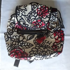 Coach Floral Graffiti backpack